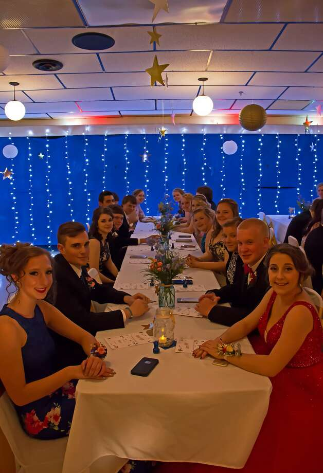 The 2017 Caseville Prom was held Saturday at the Caseville Eagles Club. Photo: Bill Diller/For The Tribune