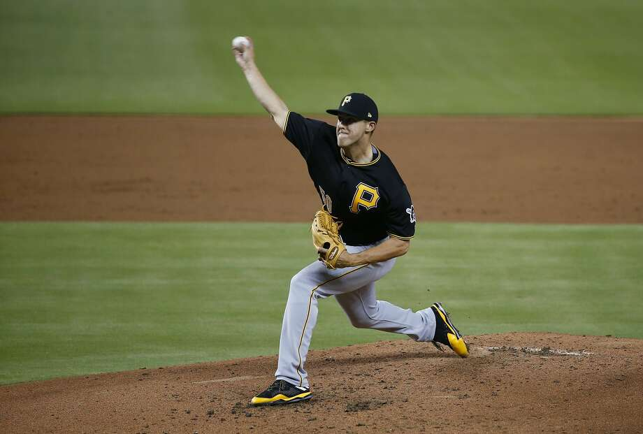Pittsburgh Pirates pitcher Jameson Taillon underwent surgeyr for suspected testicular cancer. Photo: Wilfredo Lee, Associated Press