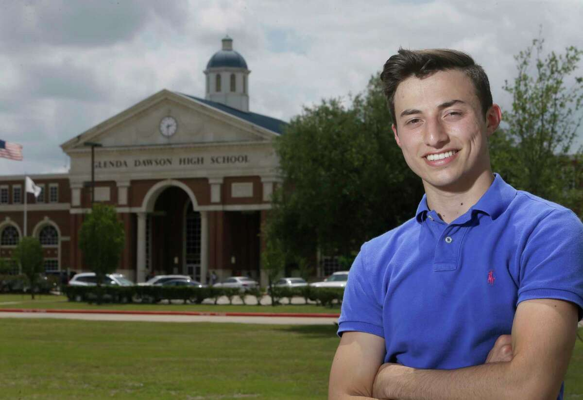 Mike Floyd, 18, won a seat on the Pearland school board with the backing of the Texas Democratic Party.