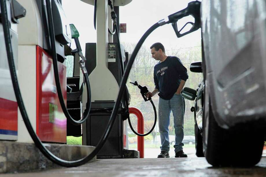 While the average price across the state fell 4 cents and the average price across the nation fell 3 cents, the average price in Midland stayed at $2.54 a gallon.  Photo: Jessica Hill, FRE / AP2011