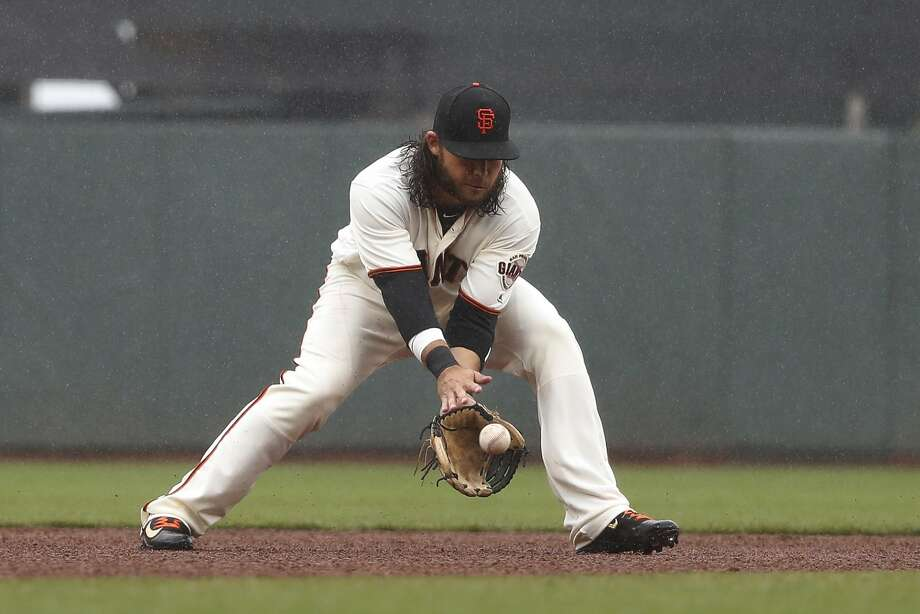 Brandon Crawford is scheduled for one more rehab start before rejoining the Giants. Photo: Stephen Lam, Getty Images