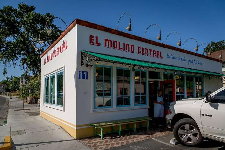 The exterior of El Molino Central in Boyes Hot Springs, Calif., is seen on May 8th, 2017.