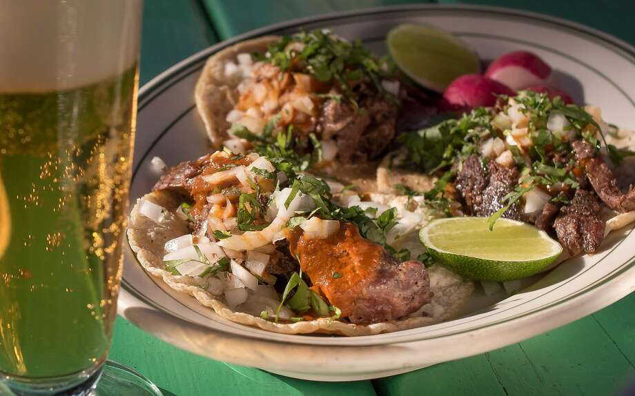 Lamb Barbacoa Tacos at El Molino Central in Boyes Hot Springs, Calif., are seen on May 8th, 2017. Photo: John Storey, Special To The Chronicle
