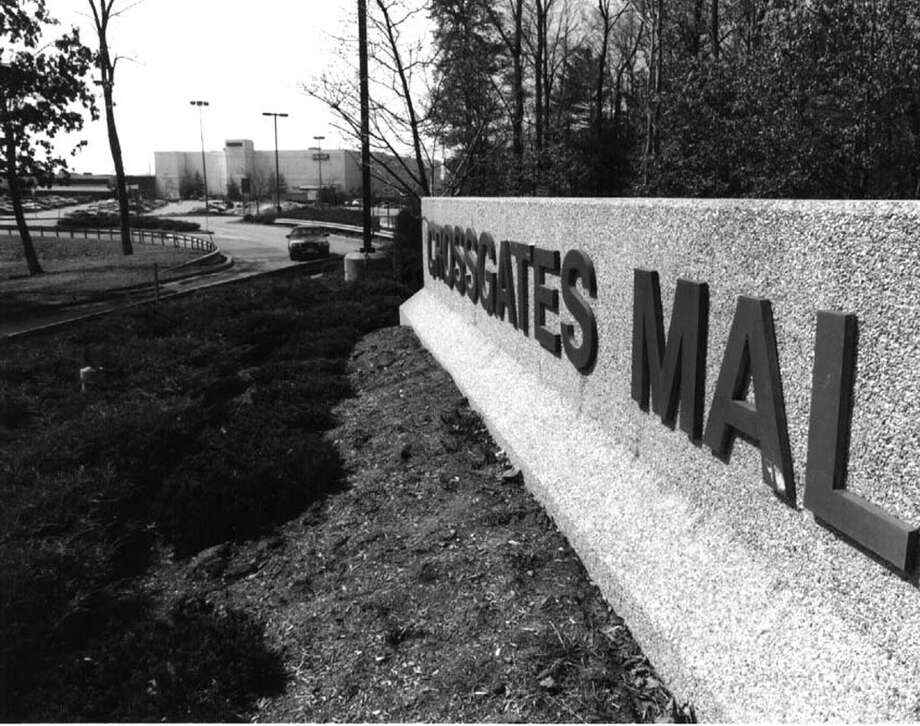 CROSSGATES MALL--some of the mall is visible from Western Ave. entrance to the new addition 4/1/94 --19-- loucks Photo: Paul D Kniskern, Sr., DG