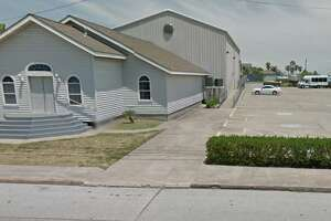 Vandals spray-painted racial epithets at New Life Church in Galveston.