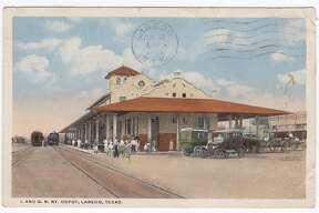 International and Great Northern Railway Depot, July 15, 1920 Laredo, Texas