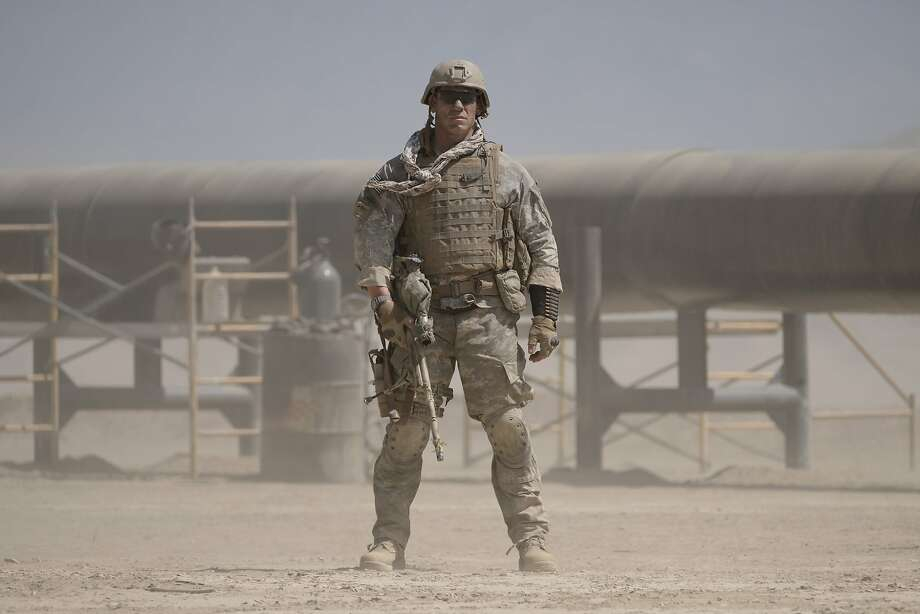 "This image released by Amazon Studios and Roadside Attractions shows John Cena in a scene from, ""The Wall."" (David James/Amazon Studios and Roadside Attractions via AP) Photo: David James, Associated Press"
