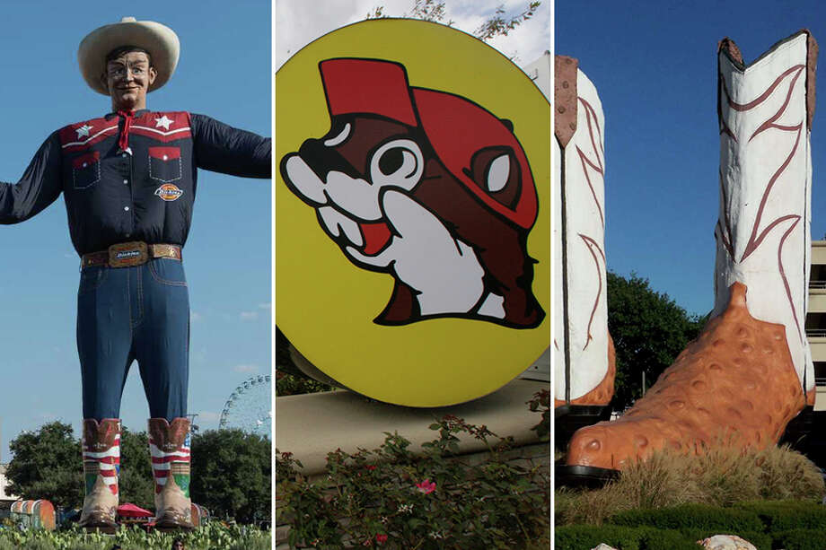 Photos that prove things in Texas are as big as a Texans' egoKeep clicking to see a collection of over-the-top Texas-sized statues, tacos and more. Photo: File Photos