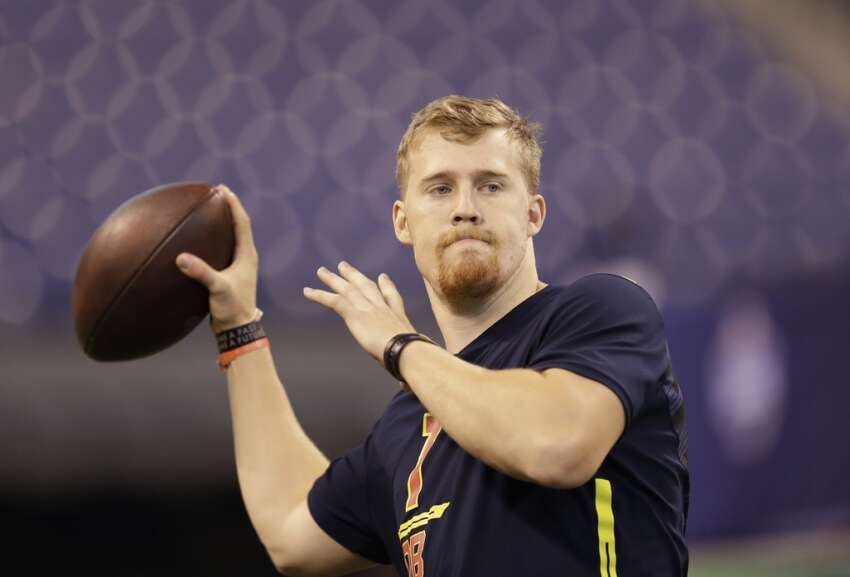 3. QB C.J. Beathard, Iowa, third round: Beathard threw with ease and with impressive accuracy during individual drills. Not surprisingly, when he was nearly as accurate in team drills and, at times, he had trouble negotiating the Santa Clara winds. However, overall, he looked good.