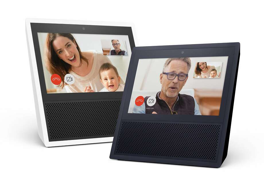 Amazon's new Echo Show speakers allow users to use voice activation to make voice or video calls to family and friends. Photo: Associated Press