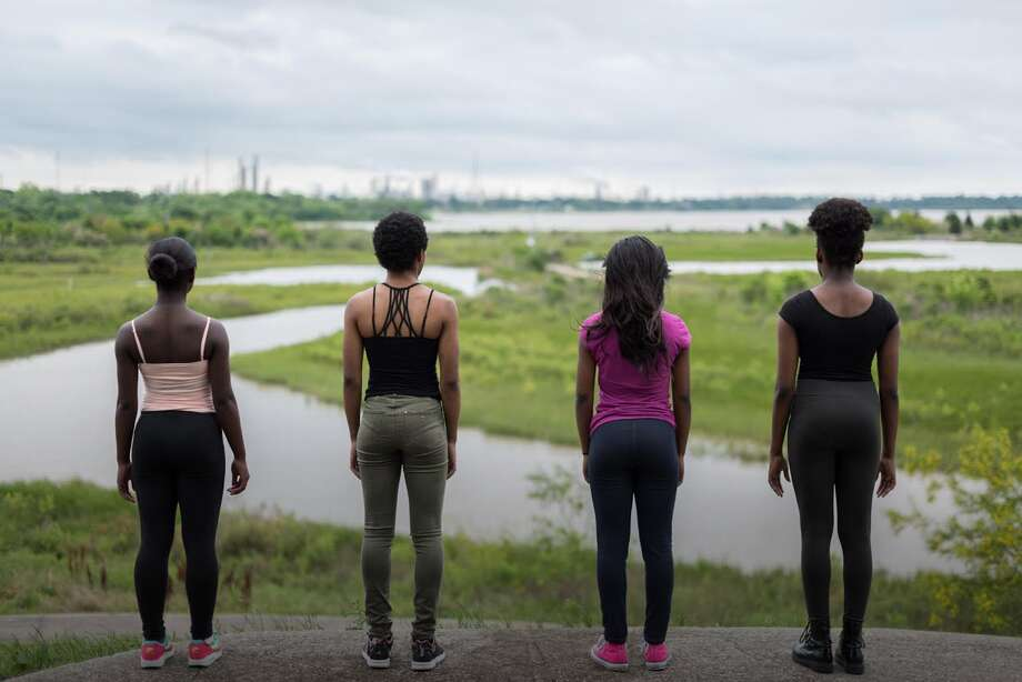 """A new film, """"In the Air,"""" tells the story of environmental justice on the Gulf Coast entirely through spoken word poetry, dance, music and visual art. Photo: John Fiege"""