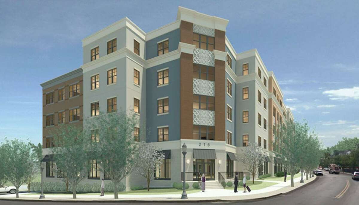 A rendering of Park 215, the latest Charter Oak Communities project - a five-story, 78-unit apartment complex on the West Side - that is underway. The mixed-income residential development is part of Charter Oak's Vidal Court Revitalization effort. Previous projects include Westwood, Palmer Square and Greenfield. Park 215 will be comprised of 47 affordable units and 31 market-rate units, with a mix of one- and two-bedroom apartments. The building celebrated its ceremonial groundbreaking Monday, with an expected occupancy in summer 2018.