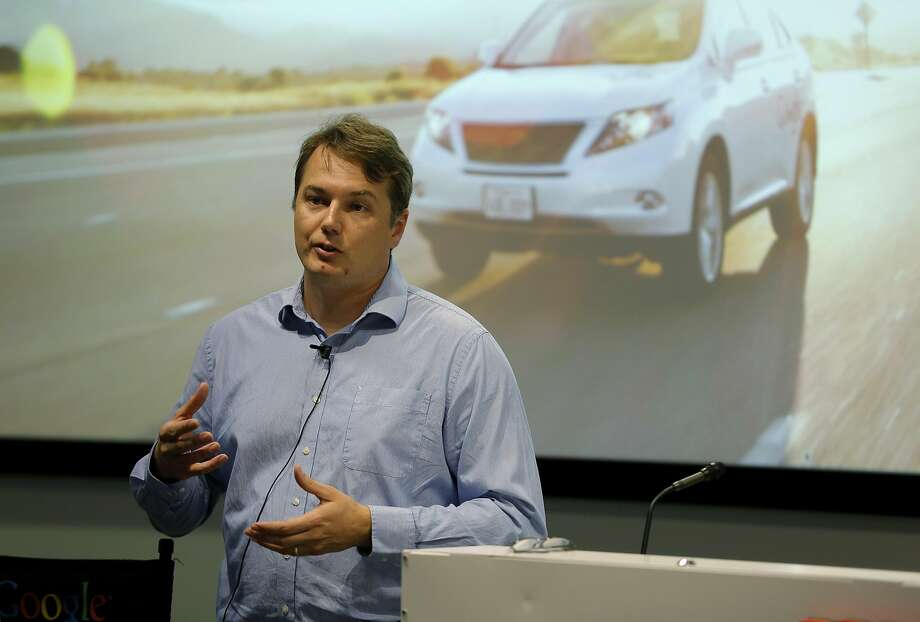 Chris Urmson used to direct Google's self-driving vehicle project (now known as Waymo). He now works at Aurora Innovation, which is working on self-driving technology with multiple cars from multiple companies. Photo: Connor Radnovich, The Chronicle