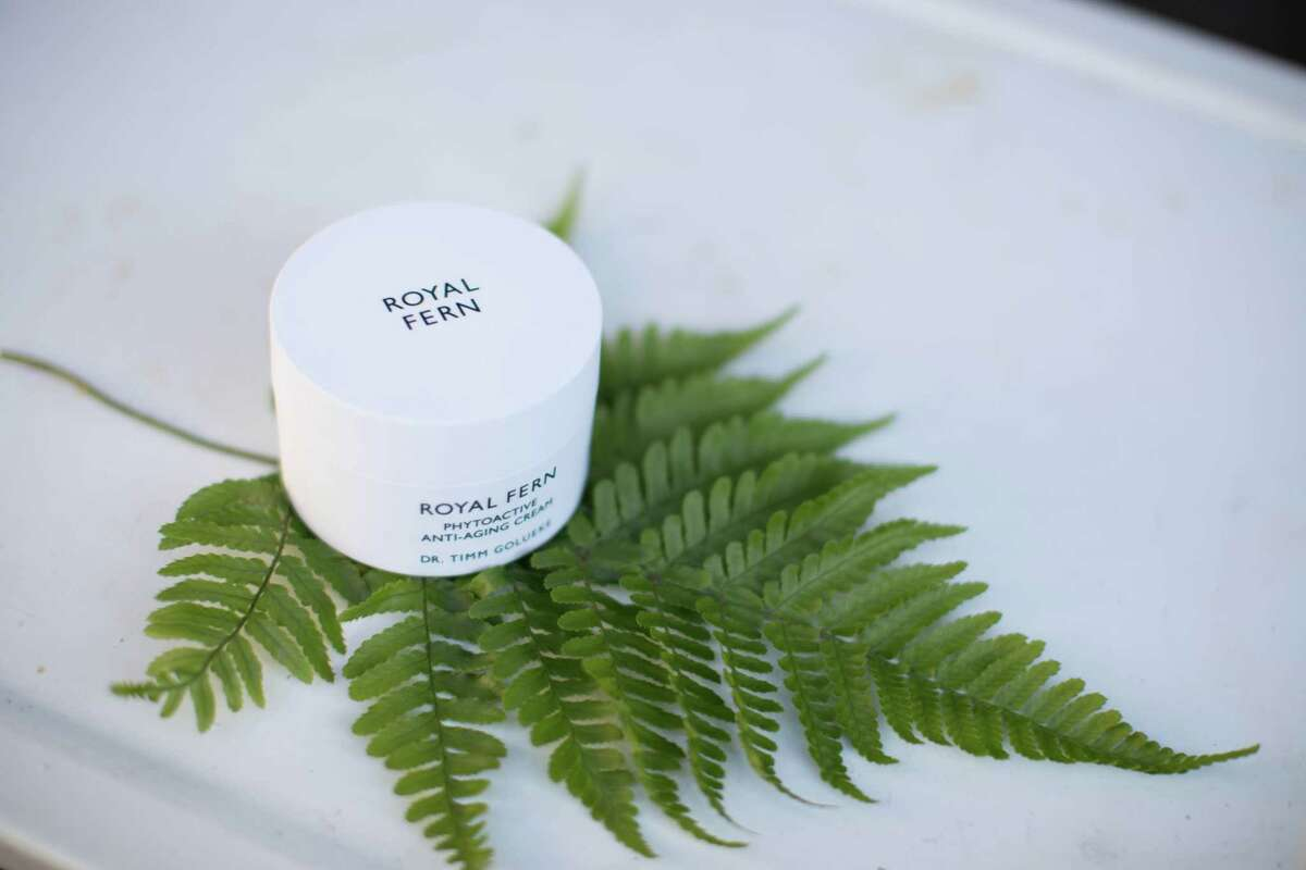 Royal Fern skincare is available at Forty Five Ten in River Oaks District.