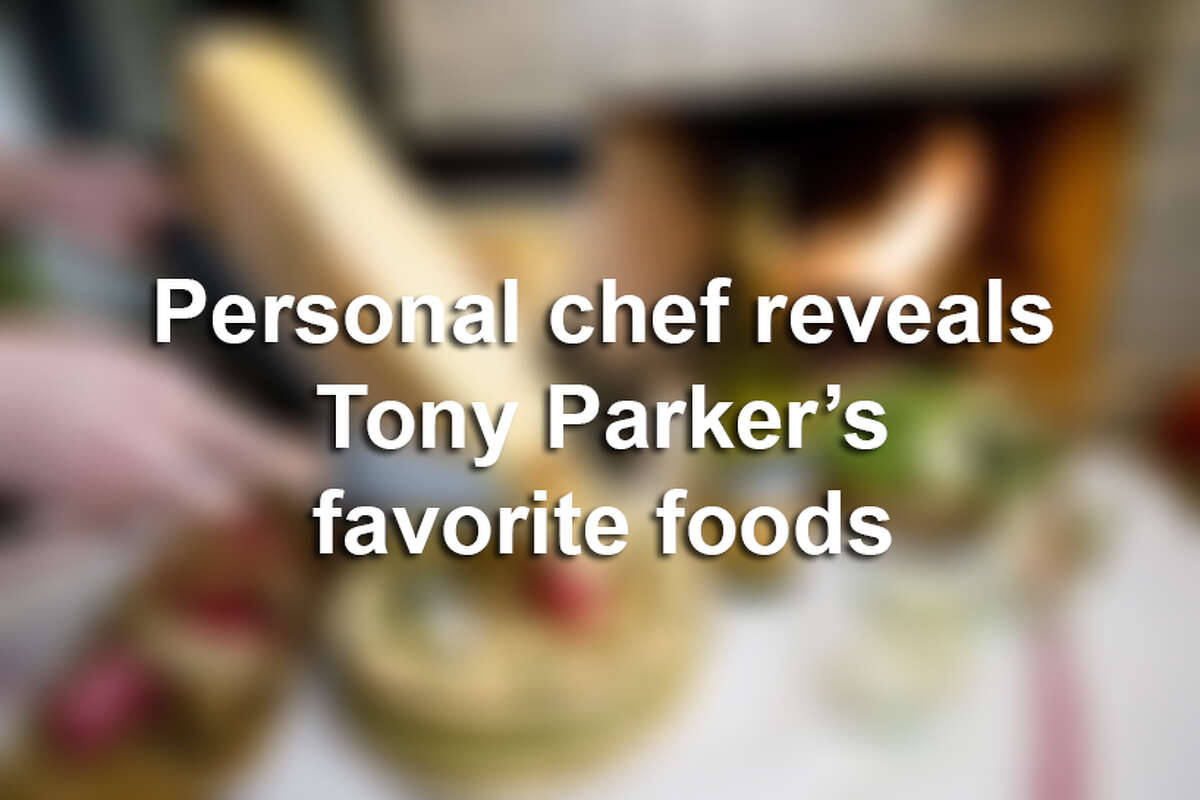 Tony Parker's personal chef reveals what the Spurs star loves to snack on, always eats on game days, guilty pleasures and the one food he absolutely hates.