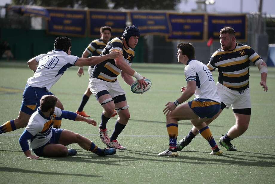 Cal rugby player Robert Paylor was left paralyzed below the chest as a result of an injury in the Bears' national title victory. Photo: Cal Athletics