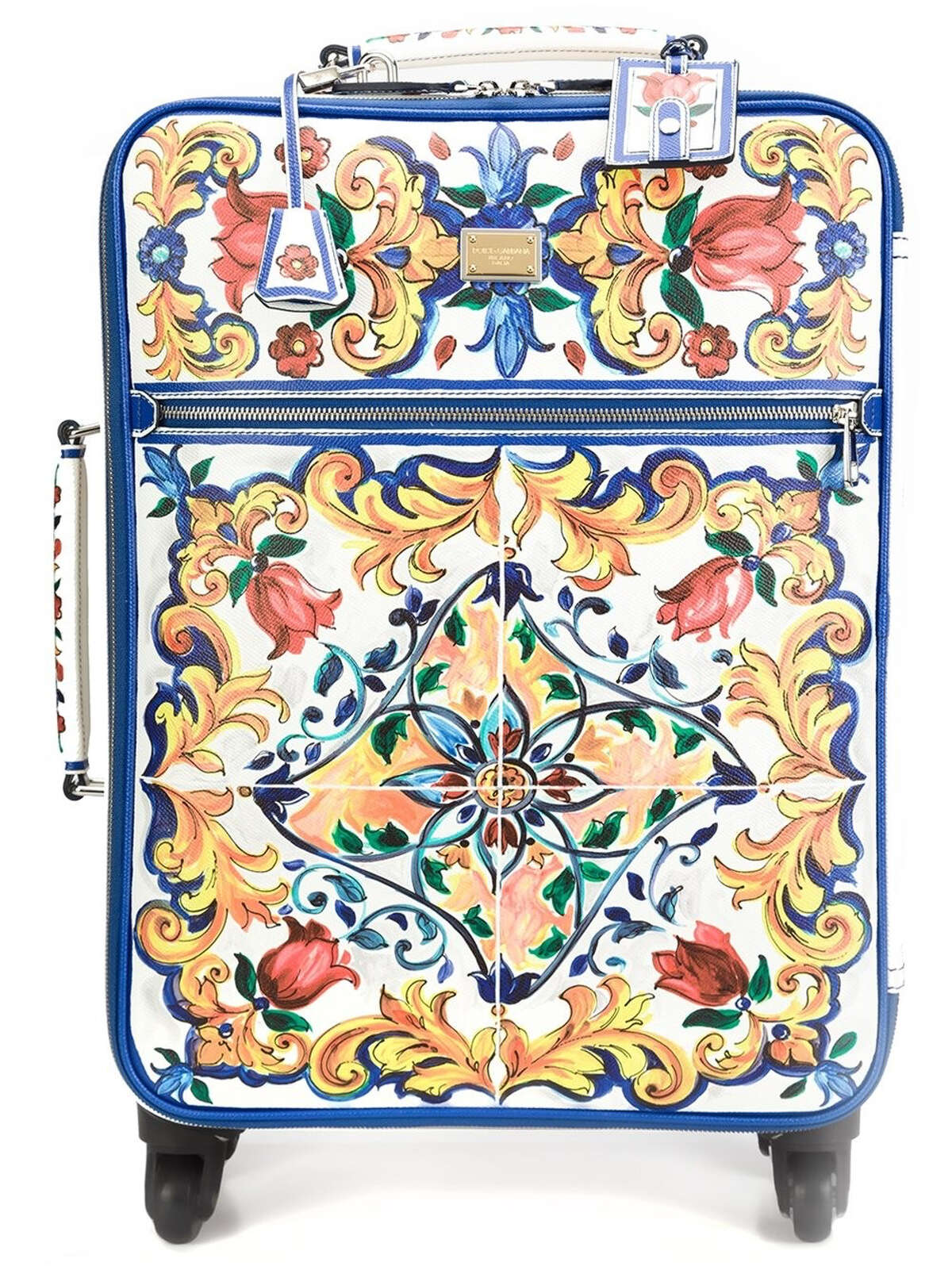 Dolce & Gabbana Majolica print trolley, $6,645, at The Webster
