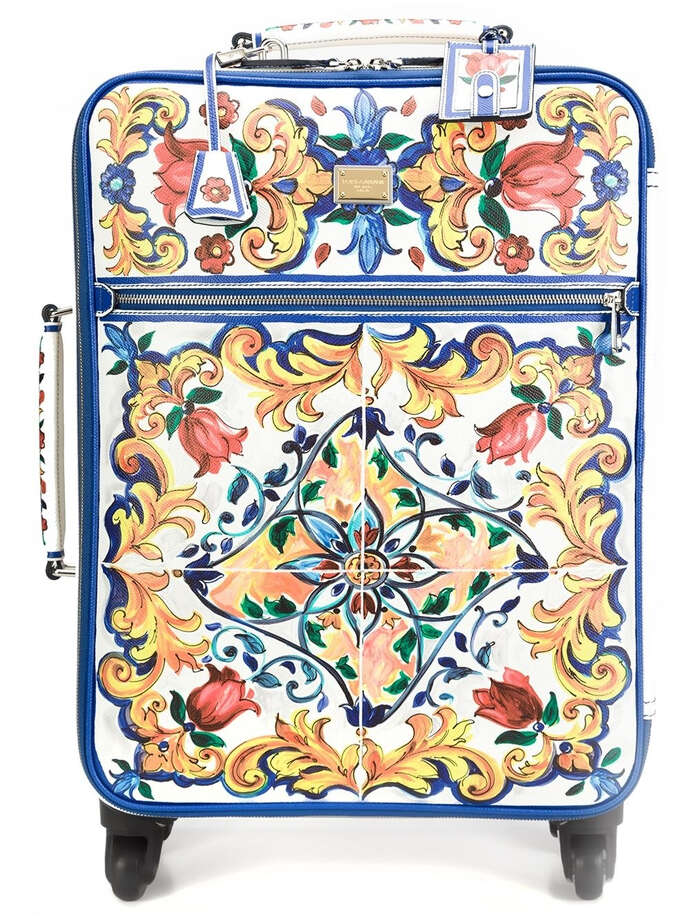Dolce & Gabbana Majolica print trolley, $6,645, at The Webster Photo: The Webster