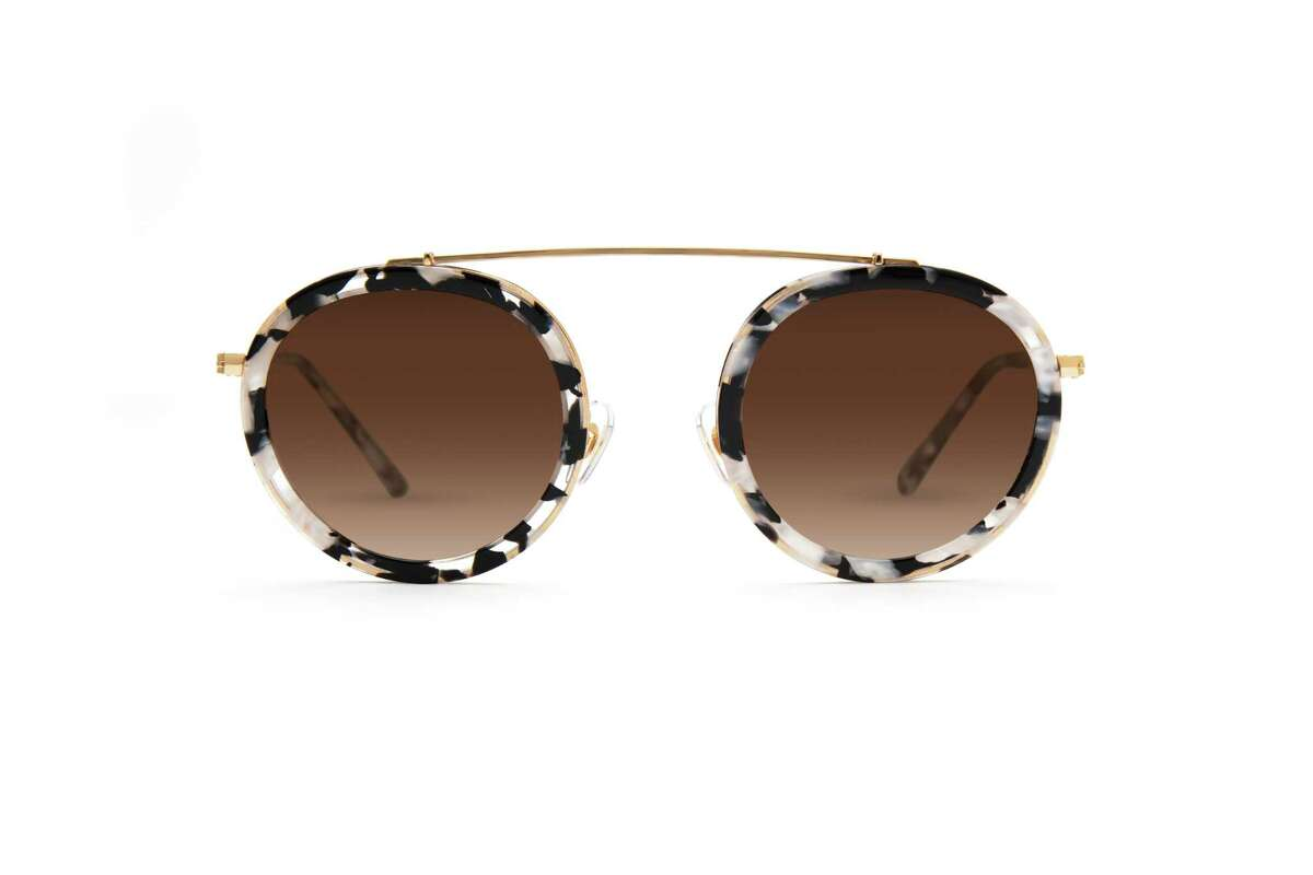 Krewe Conti Interstellar 24K sunglasses, $255