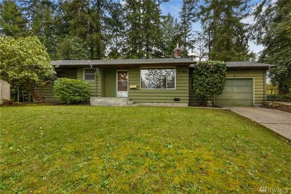 This mid-century rambler in the Edmonds area has had the same owner for 45 years and a new roof for only two weeks. It also features refinished hardwood floors and a large 10,000 square-foot lot with plenty of greenery to garden.  