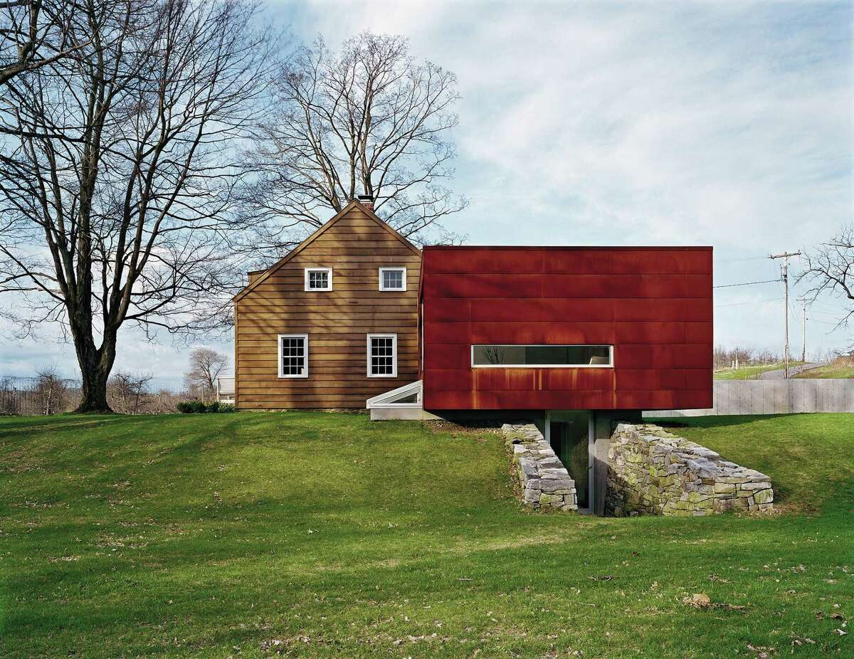 Ten Broeck Cottage in Livingston, N.Y., featured in Marc Kristal's