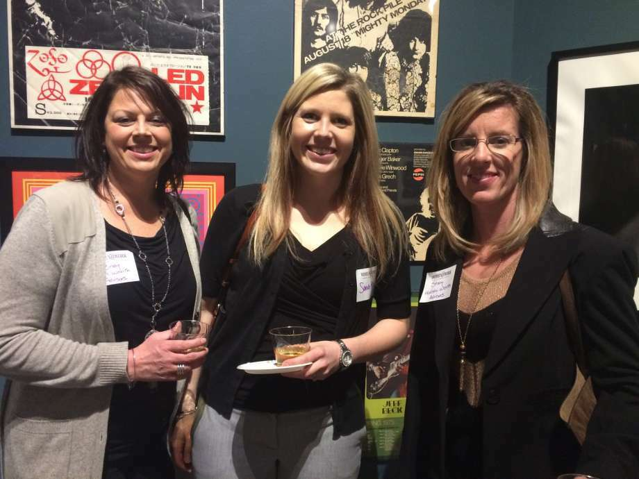 Women@Work is proudly supported by this crew — the women from Holistic Wealth Advisors, one of our corporate partners. (Leigh Hornbeck)