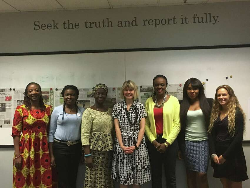Women@Work was joined by female business owners and entrepreneurs from Nigeria to discuss women in the working world, cultural similarities and difference, and how women are continuously growing in business, at the Times Union in Albany, N.Y. on August 1, 2016. ORG XMIT: 7rphryEZNXZzAImk7de8