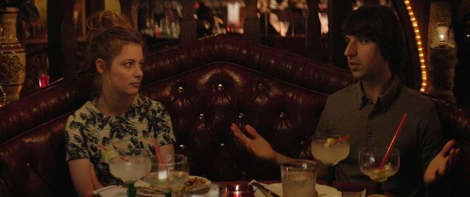 Dean (Demetri Martin) meets Nicky (Gillian Jacobs) on a trip to Los Angeles. Photo: CBS Films