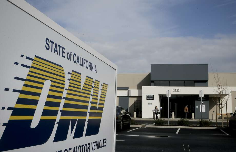 "Voting-rights advocates sued the California Department of Motor Vehicles in federal court in San Francisco on Tuesday, May 9, 2017, accusing it of violating the federal ""motor voter"" law. Photo: Michael Macor, The Chronicle"