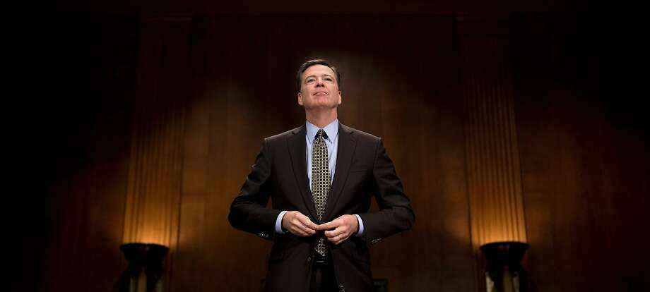 Ousted FBI director James Comey, fired Tuesday by President Donald Trump, reportedly learned about his dismissal from a television news report. Photo: JIM WATSON, AFP/Getty Images