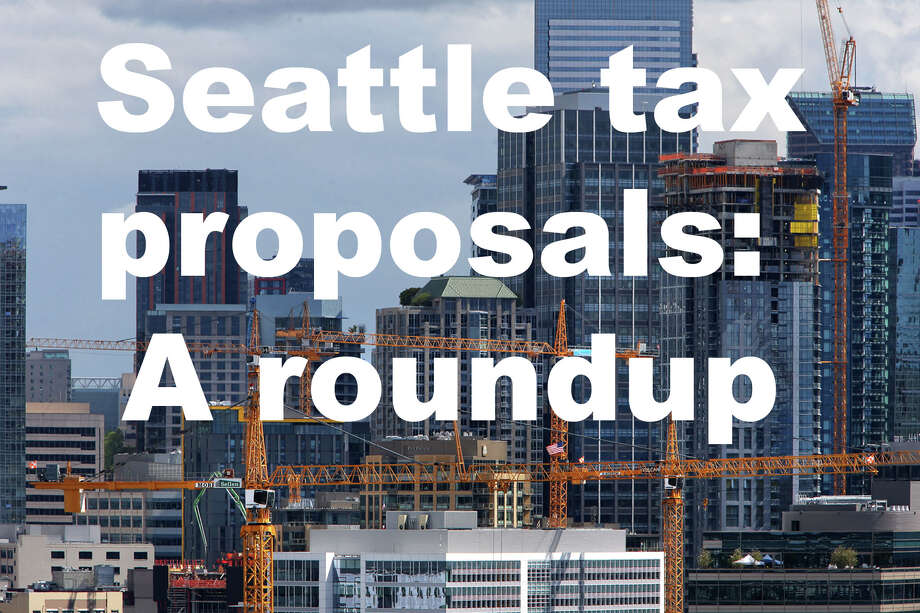 Click through to get a look at the various tax proposals under consideration in Seattle and what they might mean for you. Photo: GENNA MARTIN/GENNA MARTIN, SEATTLEPI.COM