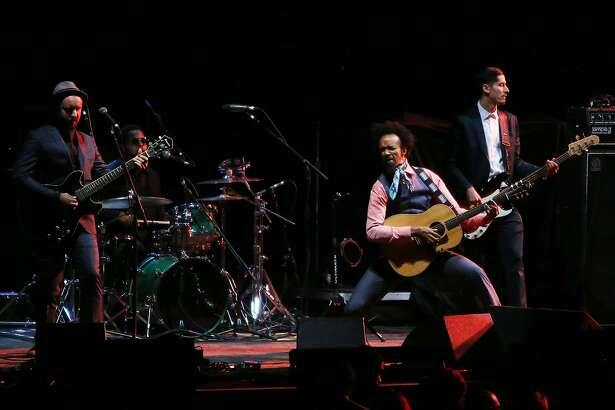 Fantastic Negrito opens for Temple of the Dog at the Paramount Theater in Seattle, Sunday, Nov. 20, 2016. (Genna Martin, seattlepi.com)