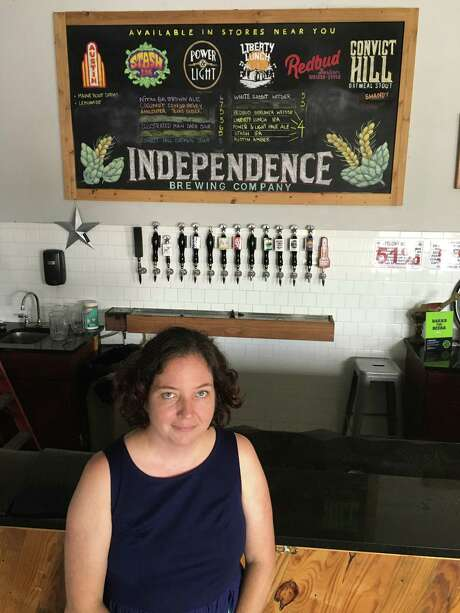 Amy Cartwright co-founded Independence Brewing Co. Photo: Ronnie Crocker
