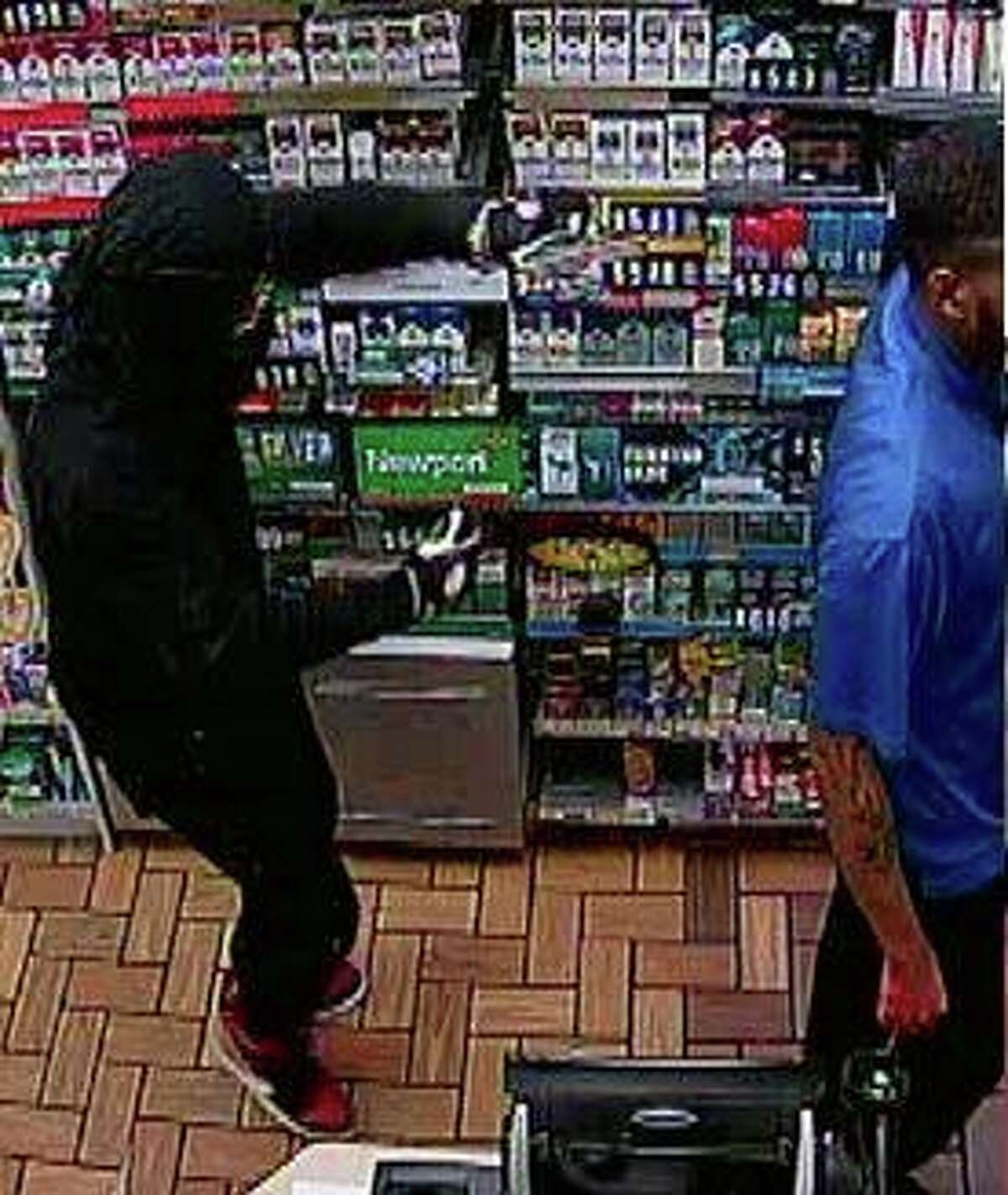 Fort Bend County sheriff's deputies are searching for a pair of masked robbers who held up a convenience store at gunpoint. The two men struck shortly after 11:30 p.m. on April 20, 2017 at a Valero store in the 14100 block of Bissonnet.