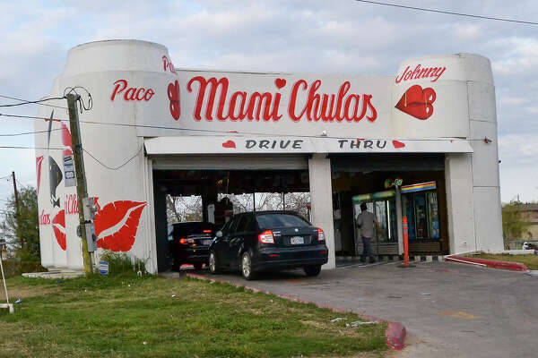 An outside view of the Mami Chulas beer run, Tuesday afternoon on the corner of Santa Clara and Zapata Highway.