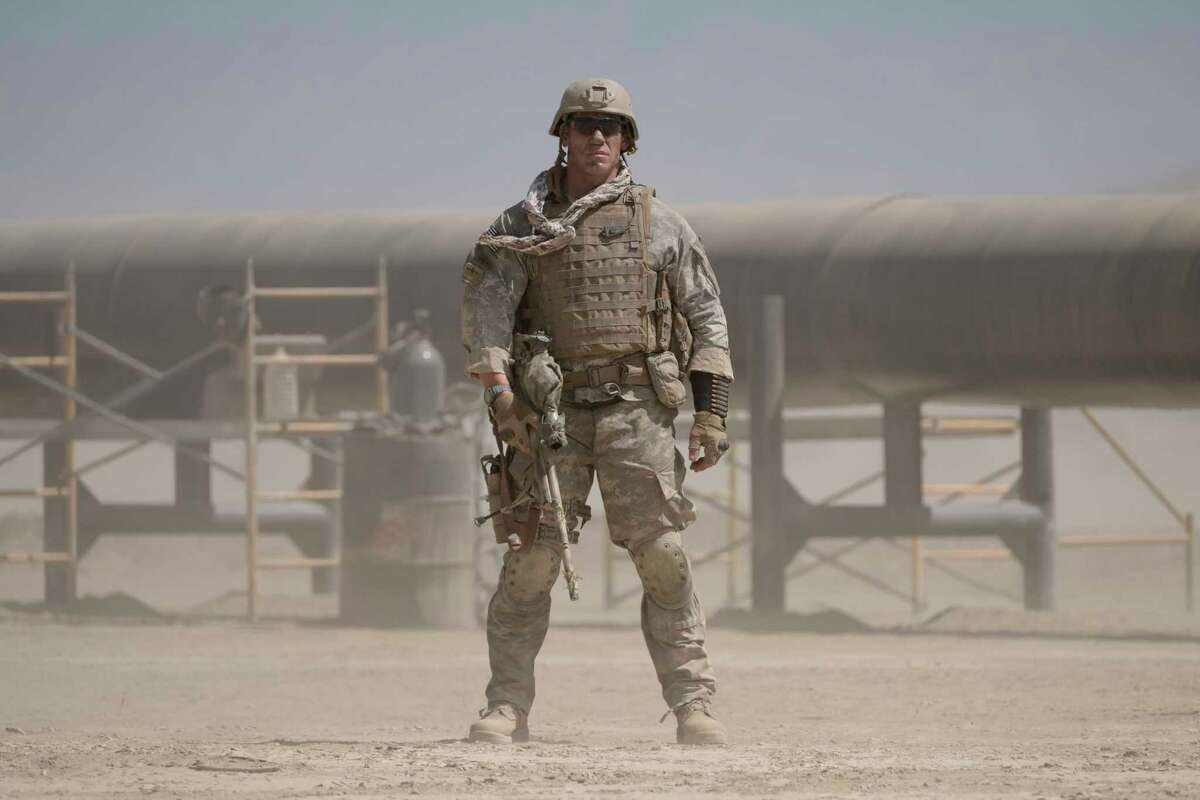 John Cena portrays a sniper pinned by the enemy in