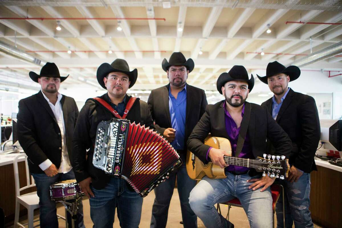 Tejano band Obzesion from Houston visits the Houston Chronicle to perform at the newsroom, Thursday, April 20, 2017, in Houston. ( Marie D. De Jesus / Houston Chronicle )