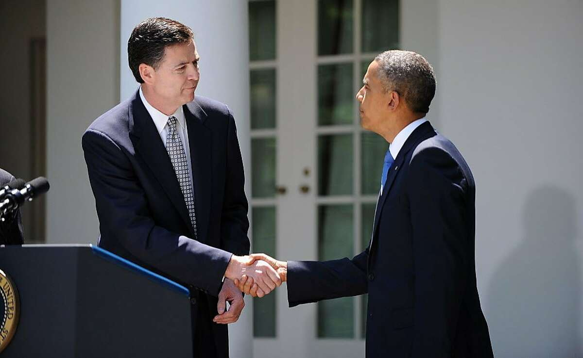 Sept. 4, 2013: Comey is sworn in to office as the seventh director of the FBI. He was nominated for the post by President Barack Obama and confirmed by the Senate.