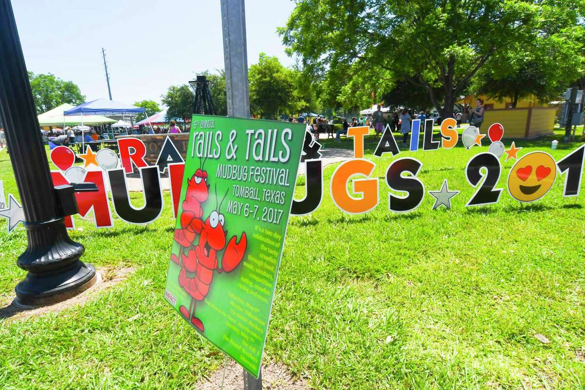 The sixth annual Rails and Tails Mudbug Festival was held May 6-7 at Tomball's historic downtown Depot.
