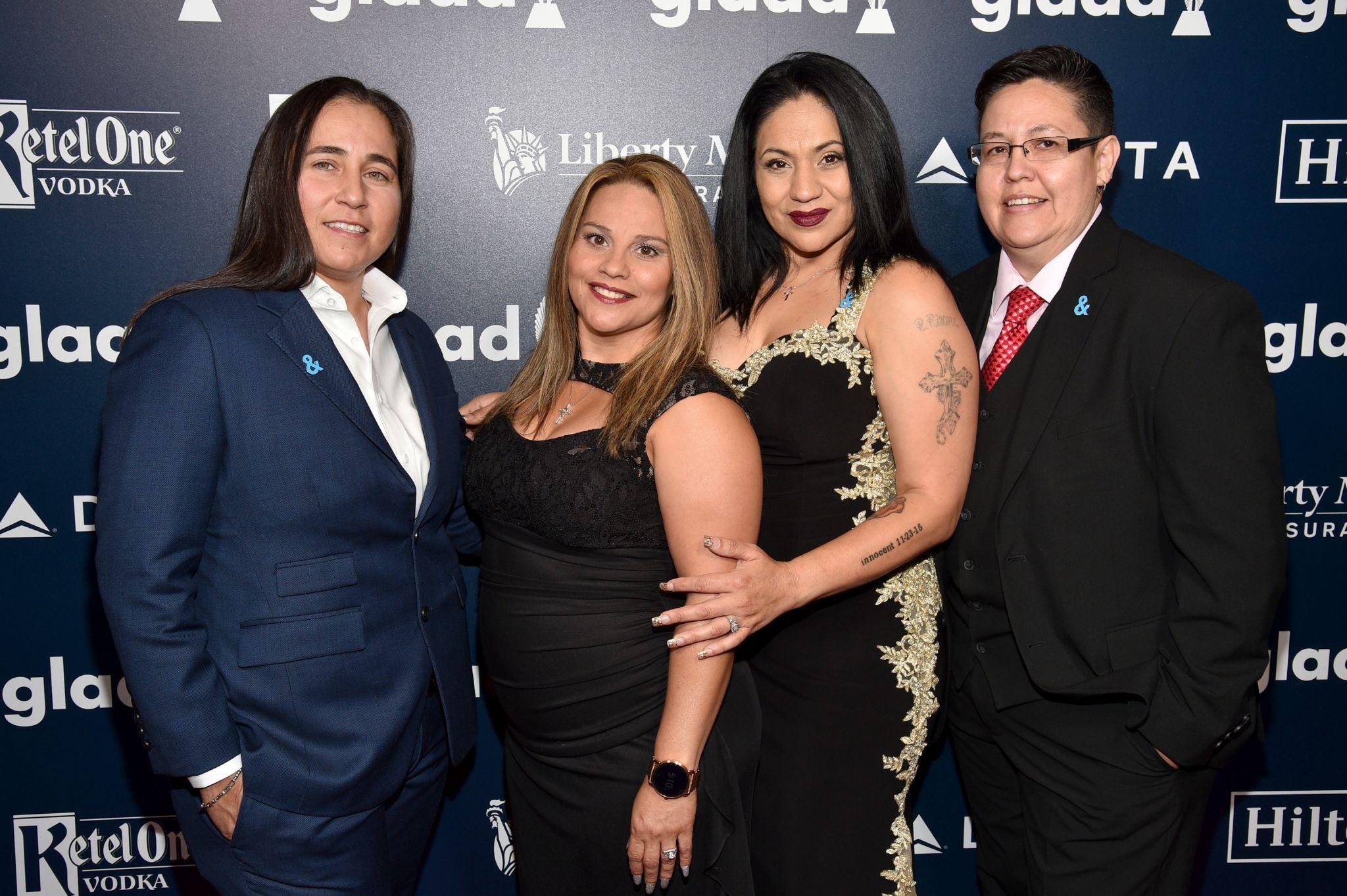 Hollywood Stars Cheer As San Antonio Four Accept Big Award