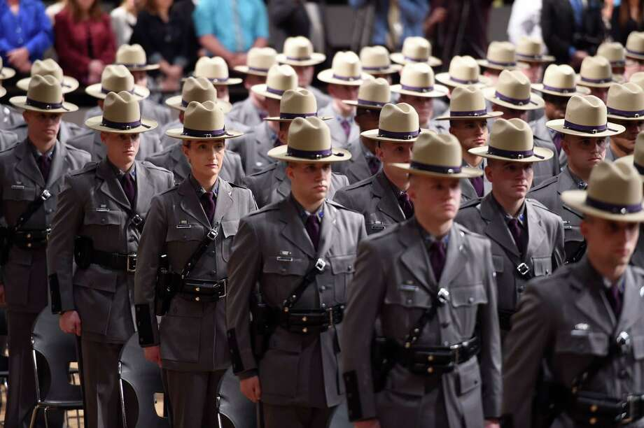 State Police Welcome Newest Troopers Wednesday Times Union