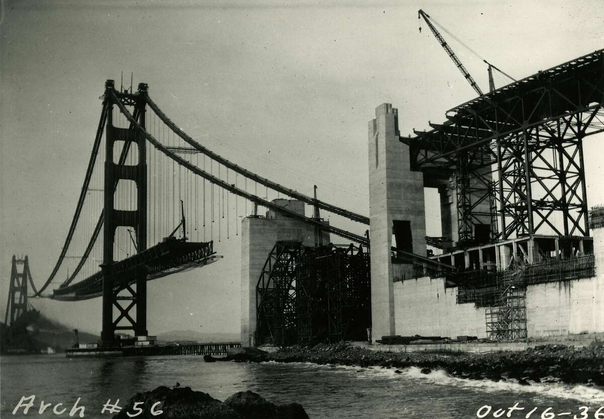 Golden Gate Bridge construction began Jan. 5, 1933. The bridge was opened May 27, 1937.