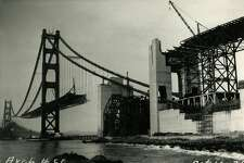 Golden Gate Bridge onstruction began on January 5, 1933. The bridge was completed and open on May 27, 1937.