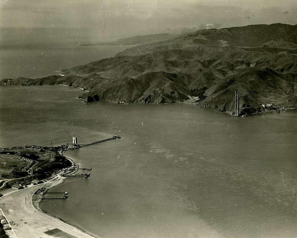 Golden Gate Bridge construction began Jan. 5, 1933.