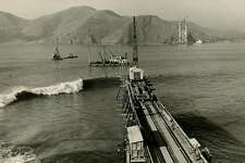 Golden Gate Bridge construction began on January 5, 1933. The bridge was completed and open on May 27, 1937.