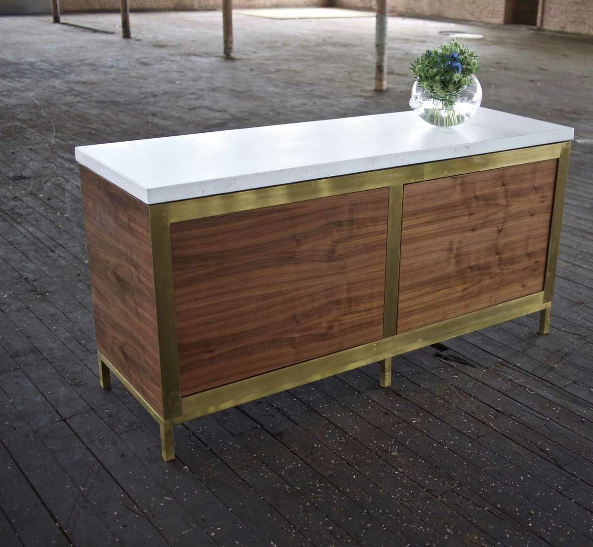 New: Elizabeth Ingram new furniture collection included this Fia credenza.