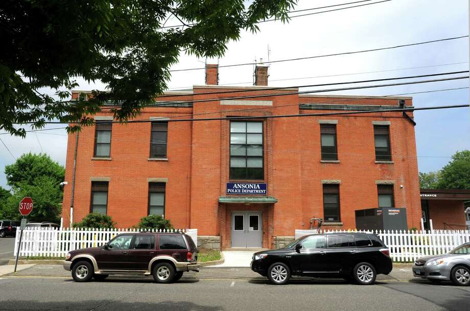 The current site of the Ansonia Police Department on 2 Elm Street. This is the former Larkin Elementary School. Photo: Cathy Zuraw / Cathy Zuraw / Connecticut Post