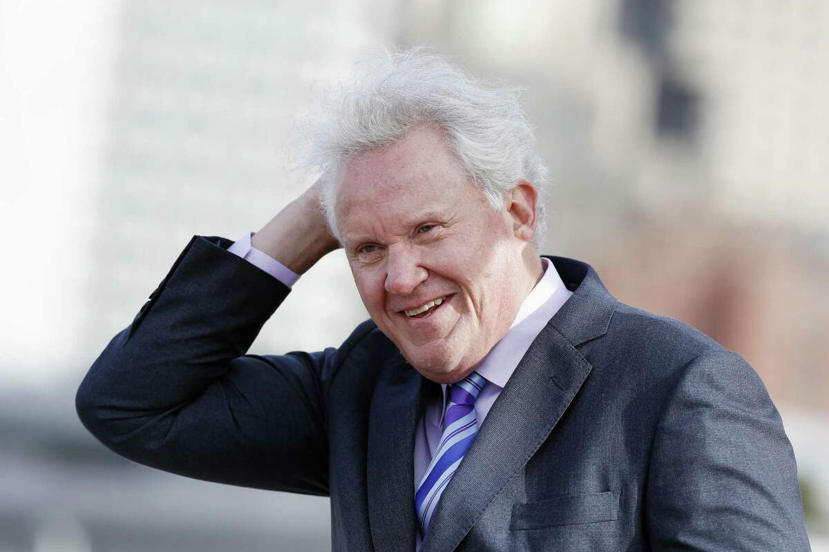 General Electric CEO Jeff Immelt attends a ground-breaking ceremony for GE's new headquarters, Monday, May 8, 2017, in Boston.