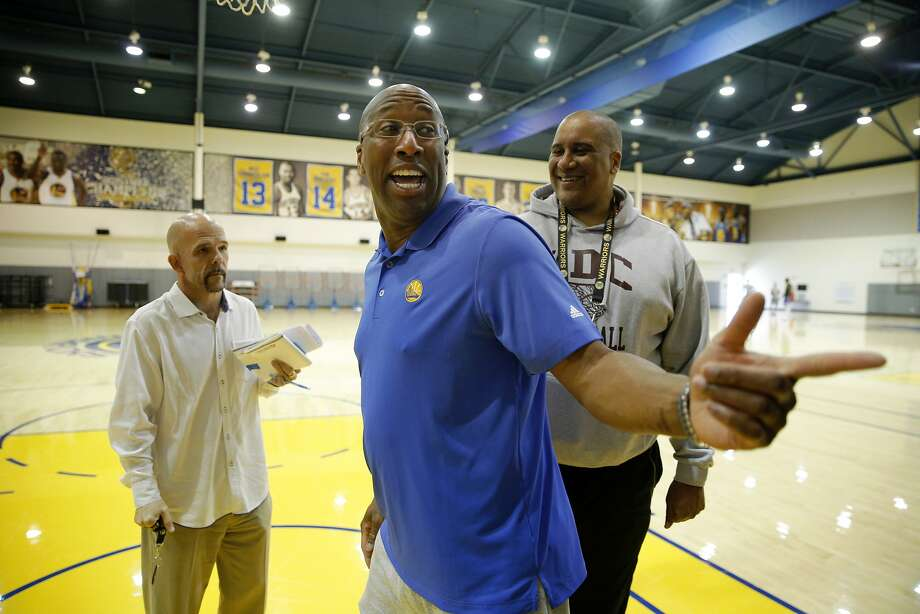 Golden State Warriors coach Mike Brown following a news conference at the Warriors practice facility on Wednesday, May 10, 2017, in Oakland, Calif. Photo: Santiago Mejia, The Chronicle