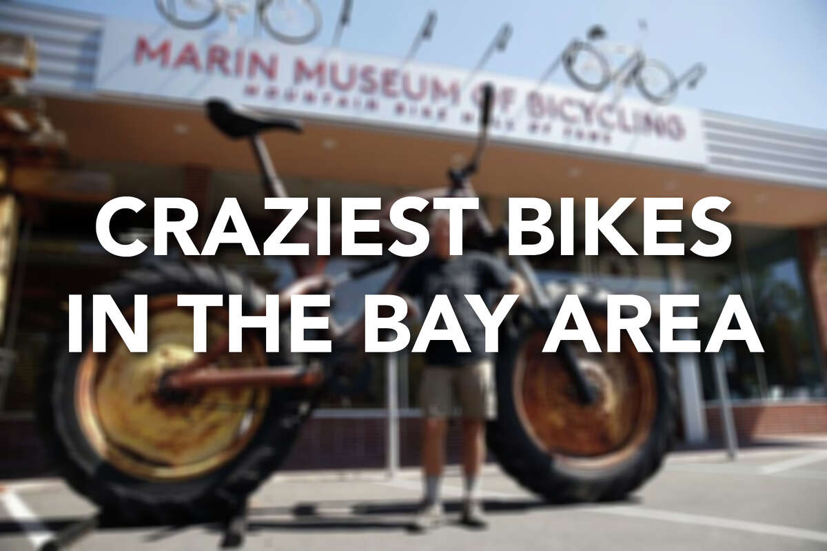 Think your old Schwinn is a unique bike? Check out some of these wild and wacky rides from around the Bay Area and beyond.